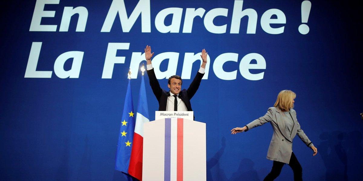 Chez Macron, un avant-goût de victoire https://t.co/nRqvjVTiox Par @AnneChDusseaulx