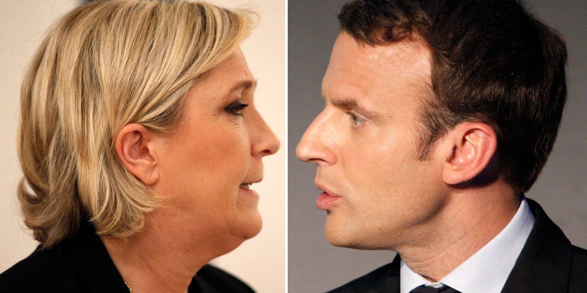 A quoi ressemblera le second tour entre Emmanuel Macron et Marine Le Pen?  https://t.co/QeC1911lHQ