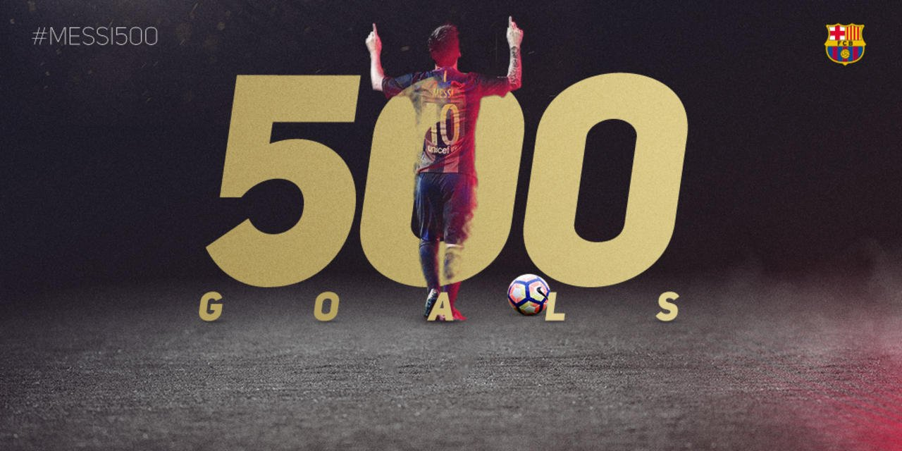 ⚽️  #Messi500 ⚽️ https://t.co/znX6ImhHu9