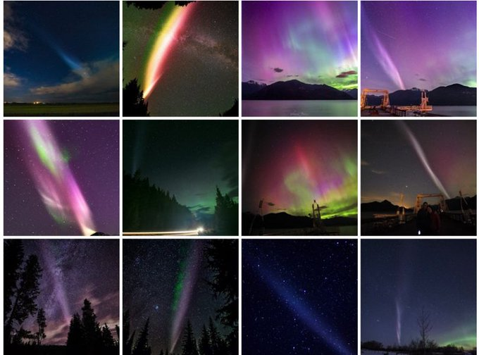 Citizen scientists have helped identify a spectacular sky phenomenon they're calling 'Steve' https://t.co/ooKT5WRAzf