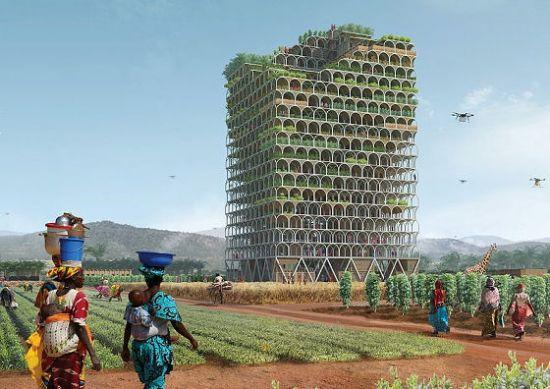 빈곤 탈출 위한 모듈식 최첨단 농업 건물 https://t.co/2p8sNkWZab #zdk