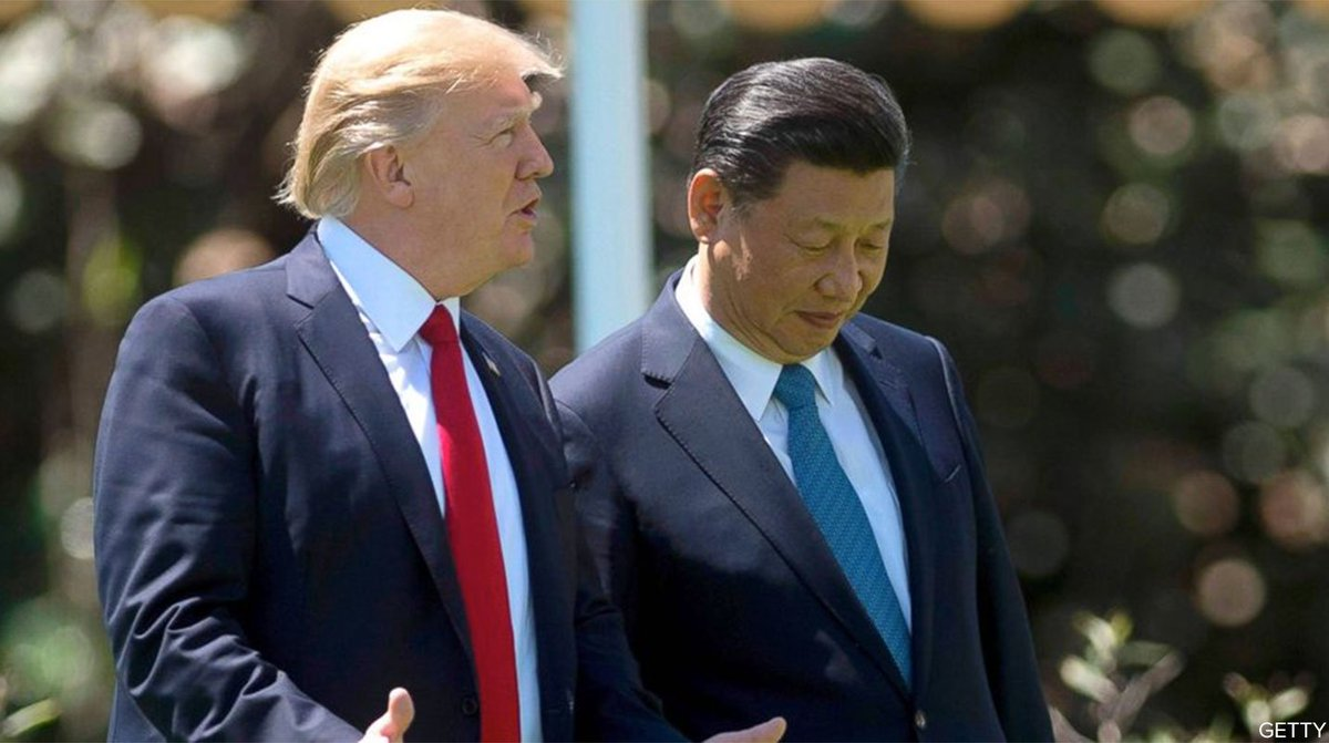 China's Pres. Xi urged restraint on North Korea in phone call with Pres. Trump, Chinese state media reports. https://t.co/lvDy9IfM0B