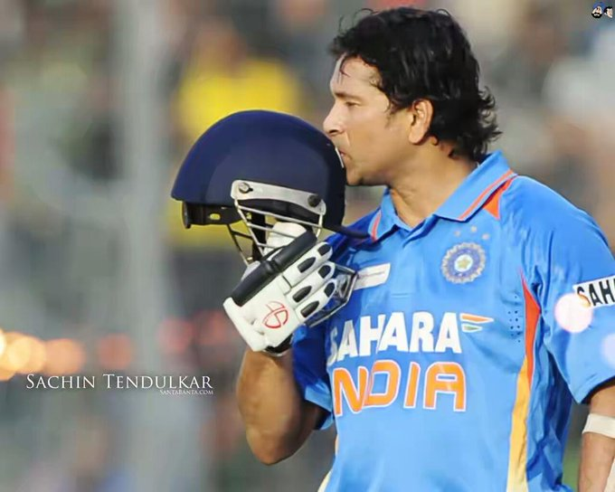 A very happy birthday to my hero Sachin Tendulkar