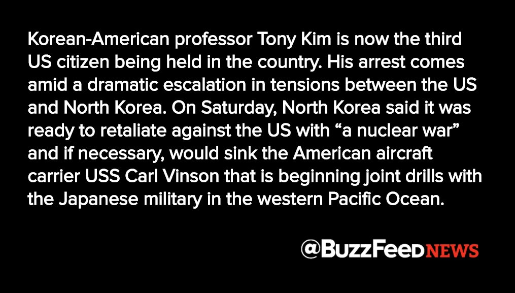 A third American is now being held in North Korea amid rising tensions https://t.co/Pw7V5xuTd4