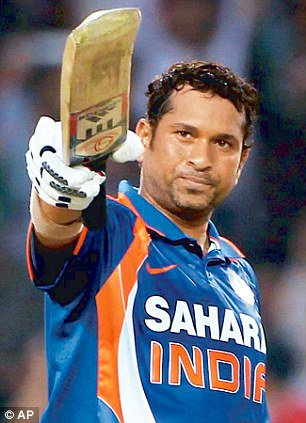Happy birthday   Sachin Tendulkar    The master of Indian Cricket Team