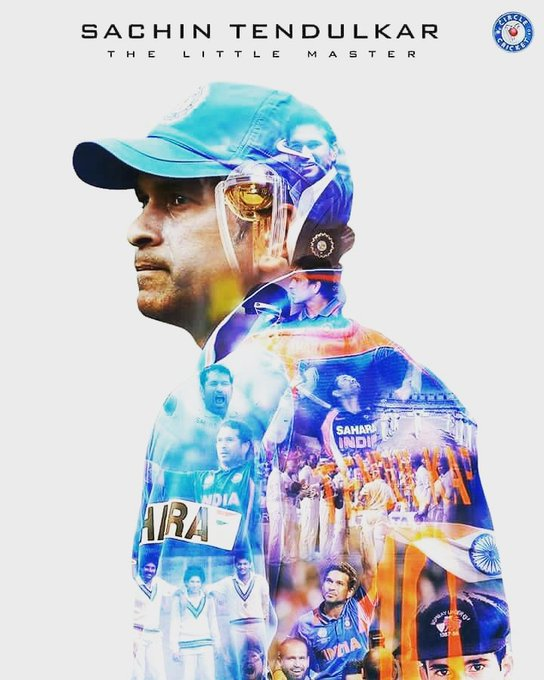 44    Happy biRthday master blaster Sachin Tendulkar