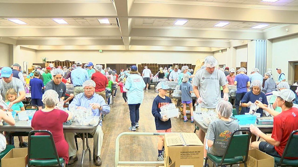 Rise Against Hunger packs meals for Nicaragua