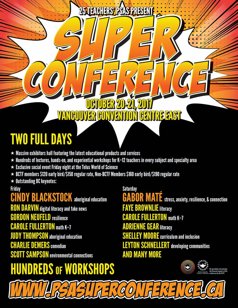test Twitter Media - Quick reminder to all #bcedchat colleagues - @PSASuperC2017 early registration is only available for 2 more days! https://t.co/zLOuaH5HJ6 https://t.co/lgNGzdMAjX