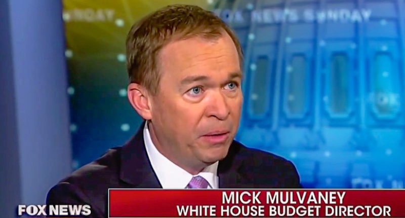 Trump budget chief: Border wall will 'protect millions of low income Americans' who lose Obamacare https://t.co/mt5TAY2TIx