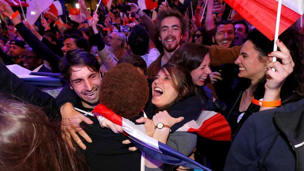 Young 'Macronistas' hope for new era in politics