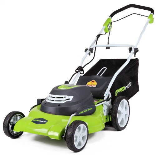 US #Outdoor No.6 GreenWorks 25022 12 Amp Corded 20-Inch Lawn Mower https://t.co/4L1ZgEMBxf https://t.co/fdqH9j6EsE