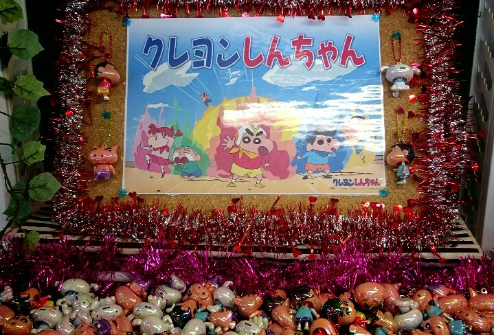 【スタッフのおススメ】MG志度店ではスヌーピーが人気でしたが、負けじと「クレヨンしんちゃん」も人気が出ている様子…☆♪ス