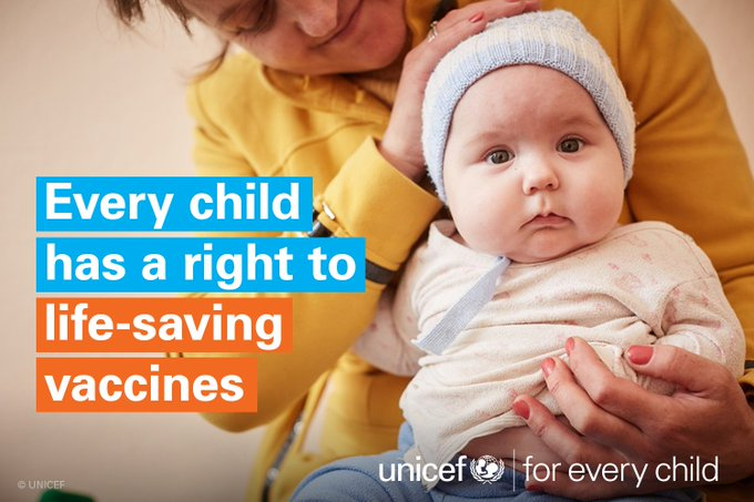 #VaccinesWork but far too many of the world's most vulnerable children miss out on the essential vaccines they need https://t.co/yQ39B6qIcf