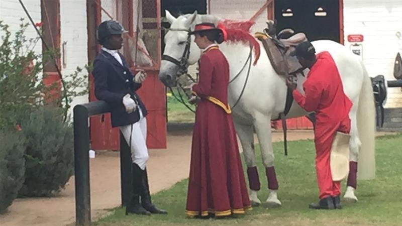 The black jockeys shaking up South Africa's horse-riding scene