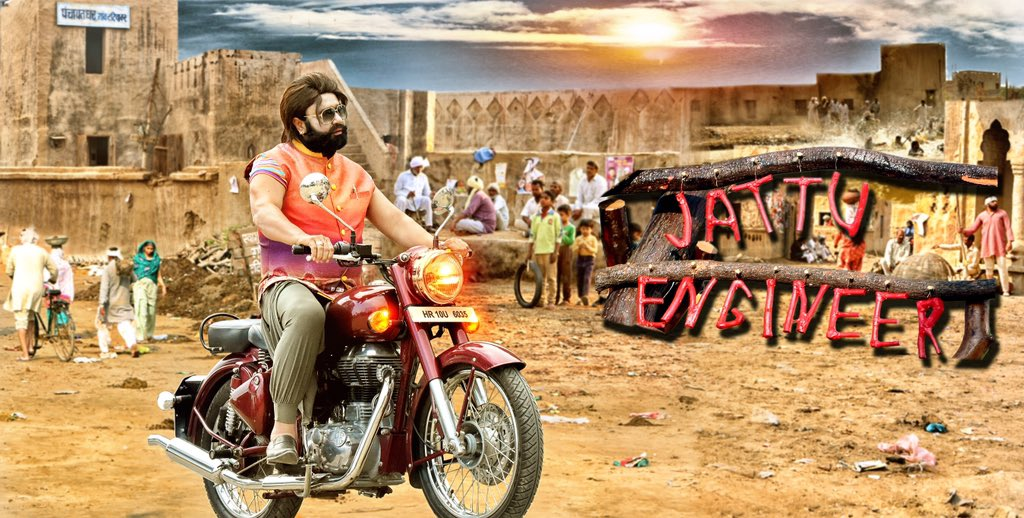 ..And he will make you laughout loud! Get ready for a funny ride with'SSS'!😂 Checkout #JattuEngineer2ndPoster