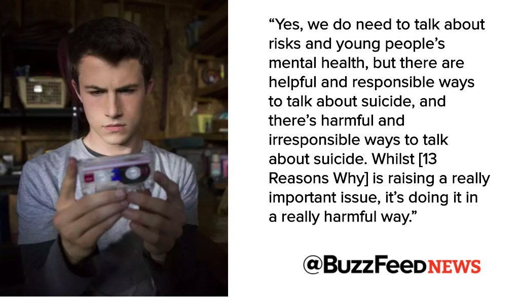 This Is Why People Are Saying '13 Reasons Why' Is A Dangerous Show https://t.co/2ifWt19Srr