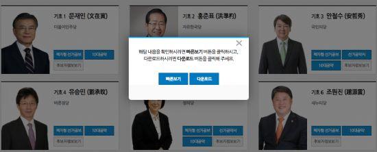 """선거책자도 클릭 한번에 열람…""""공공사이트 정보 접근성↑"""" https://t.co/fpC46nROca #zdk"""
