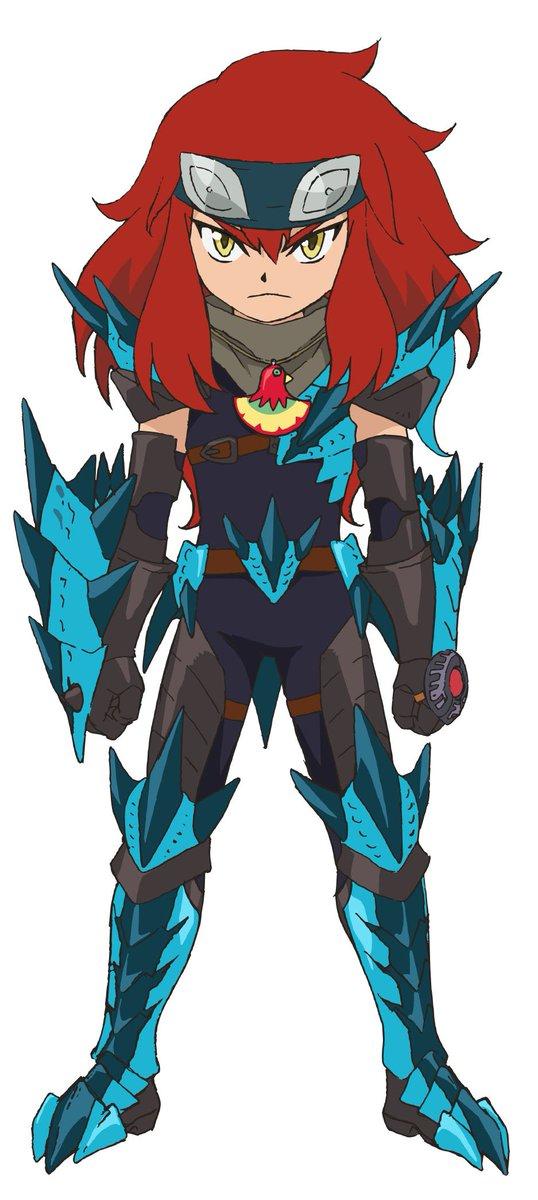 【キャラクターページ更新!】第29話から装備を変え再登場したシュヴァル。本編に合わせHPのキャラクターページも一新!!ぜ