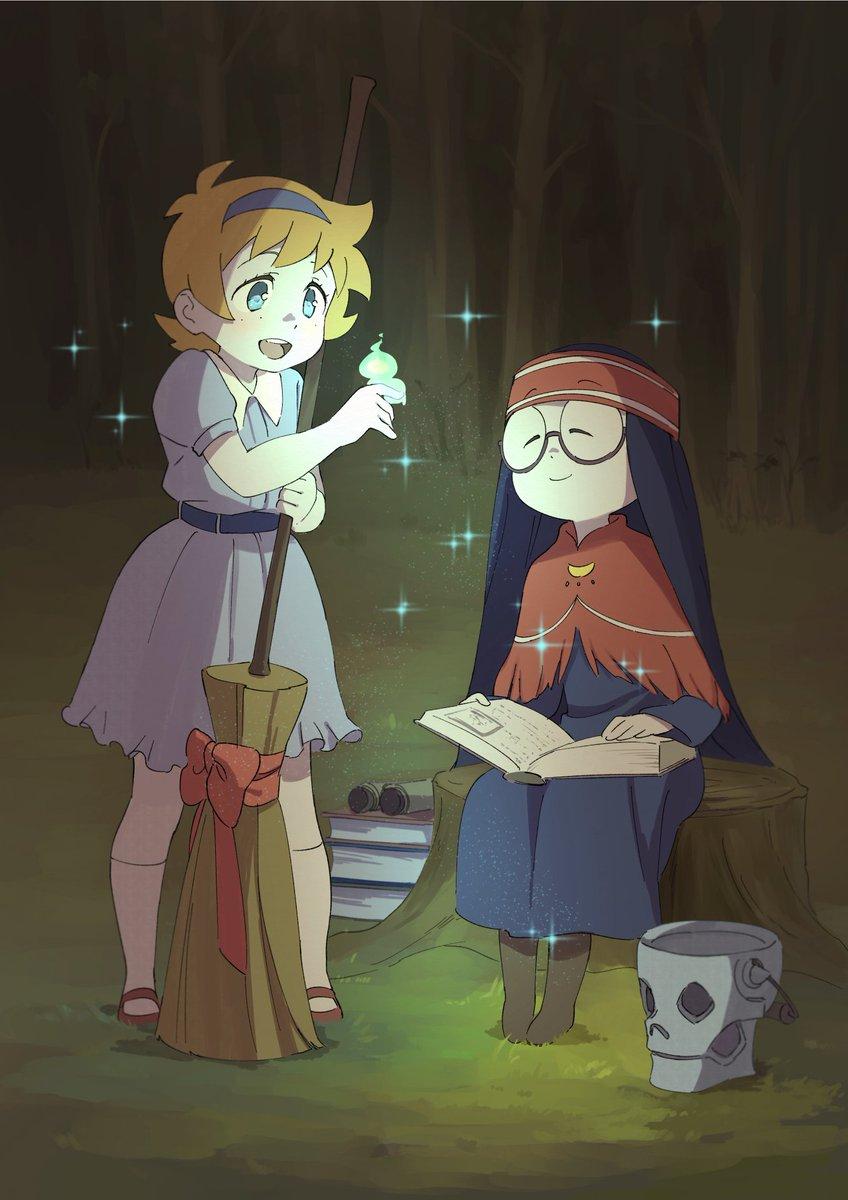 TVアニメ『リトルウィッチアカデミア』各話イラストを公開!!第16話は「中村真由美」さんに描いて頂きました!!BD&am