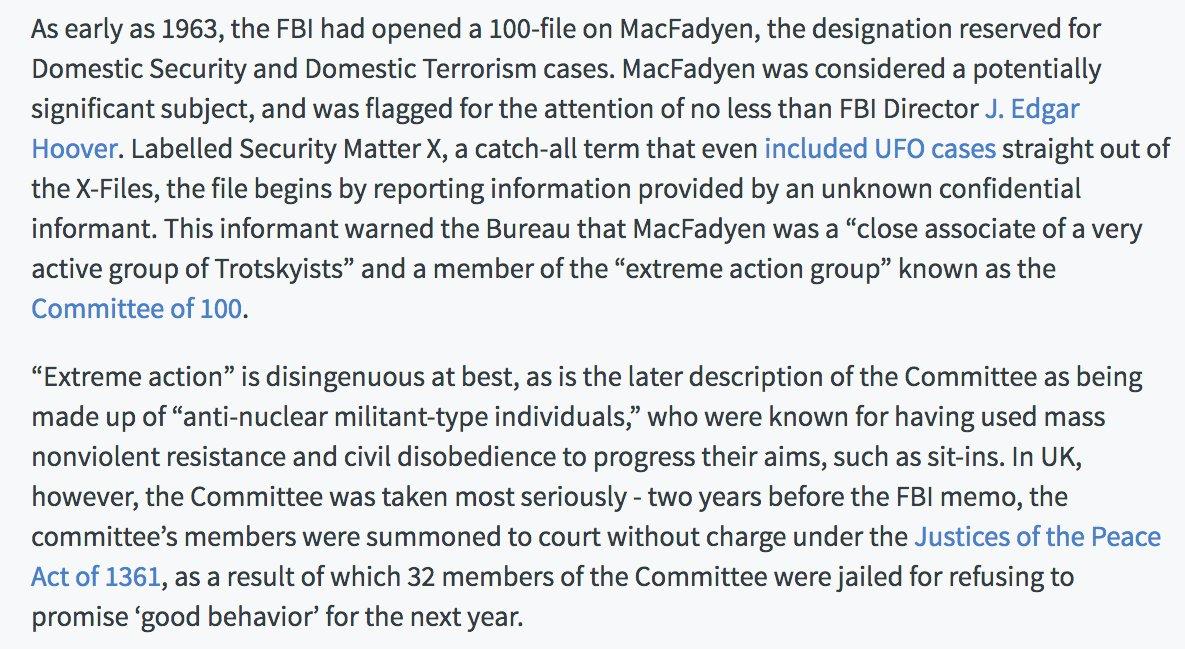 Long before WikiLeaks, the FBI spent decades obsessing over Gavin MacFadyen