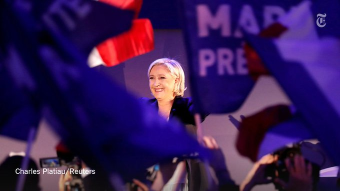 The far-right leader Marine Le Pen condemned calls to prevent her from becoming French president https://t.co/n1OrULPuWE