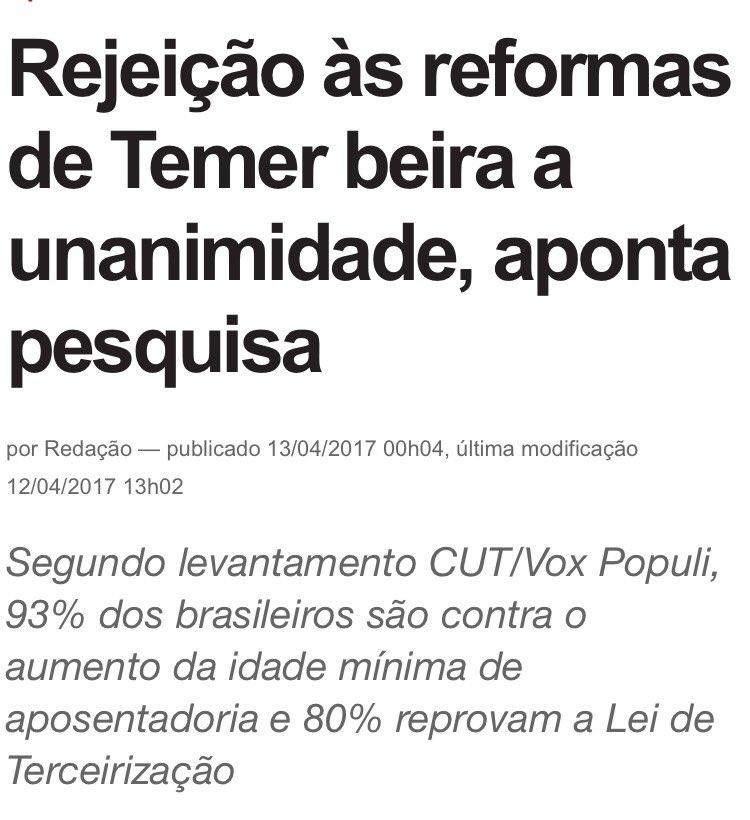 Doria vive numa realidade paralela onde a maioria da população é a favor das reformas e Chiquinho Scarpa é conde.