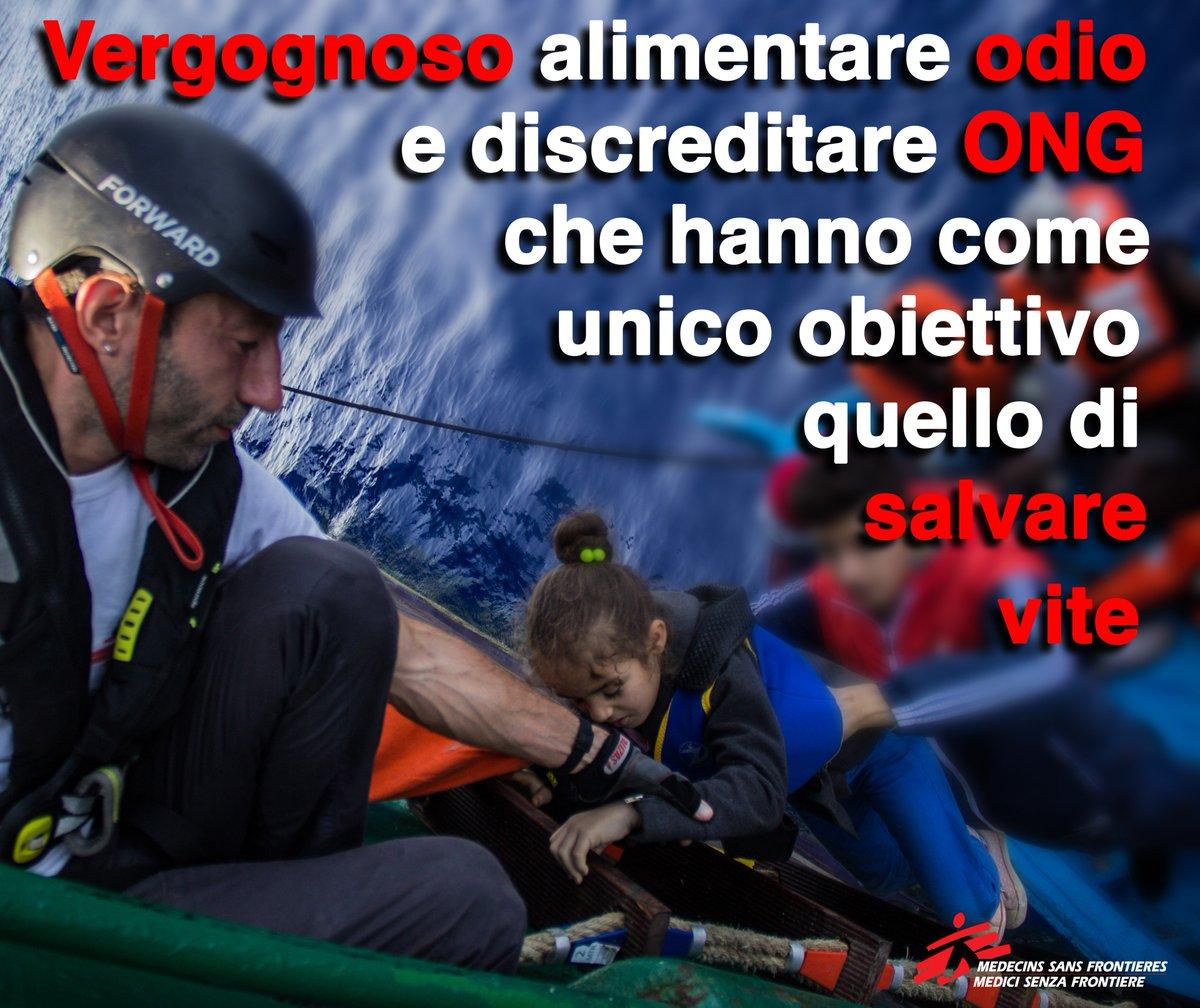 Se ci fosse un sistema europeo di aiuti e soccorsi in mare,non ci sarebbe bisogno delle ONG. RITWITTA #iostoconleONG https://t.co/fdIMVn8Su6