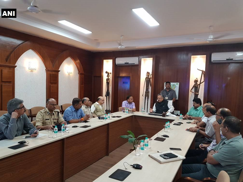 Chhattisgarh CM Raman Singh holds emergency meeting after 26 CRPF personnel lost their lives in a Naxal attack in #Sukma .