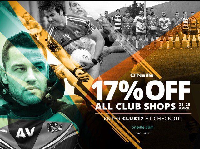 test Twitter Media - Last chance to grab that 17% off the club shop at O'Neills!🤑 https://t.co/tyRumFAiw4 https://t.co/pvINecD00M