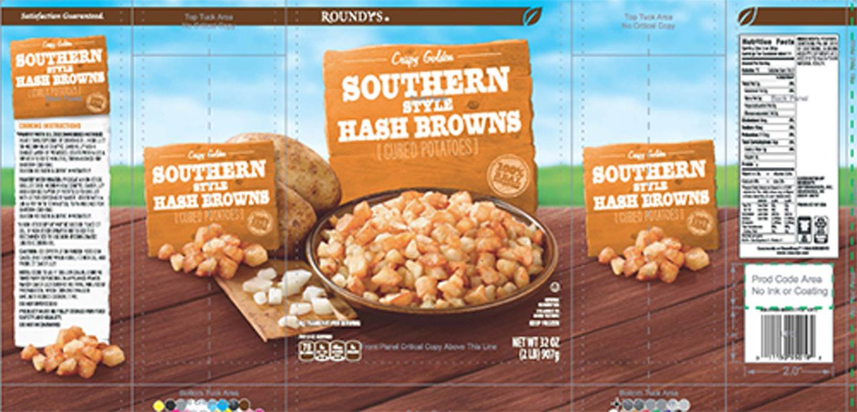 Hash browns being recalled due to possibility of golf balls. https://t.co/eOViBMQ3k1