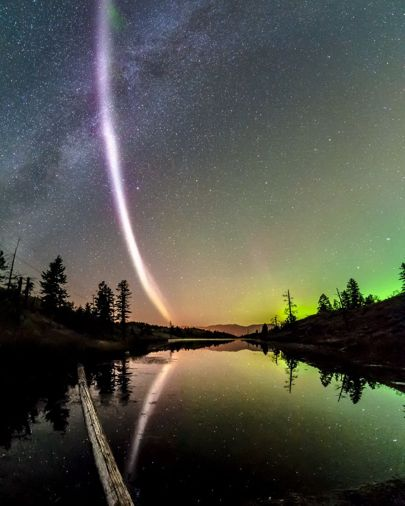 Astronomers discover mysterious purple 'aurora' light...and name it Steve https://t.co/zqBBCkTWbc