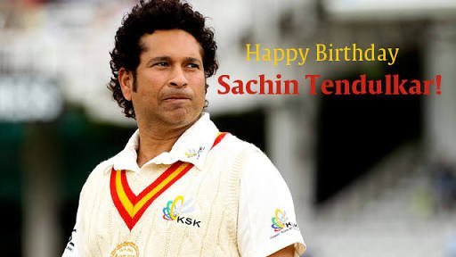 Money money happy returns of the day And Happy birthday Mr. Sachin tendulkar sir.