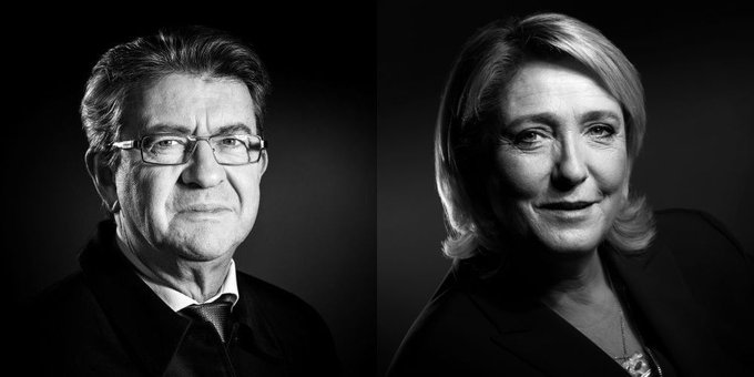 #Presidentielles2017 #Avignon : Mélenchon 28,36 %, Le Pen 21,15 %. https://t.co/J9SIkdZTCl