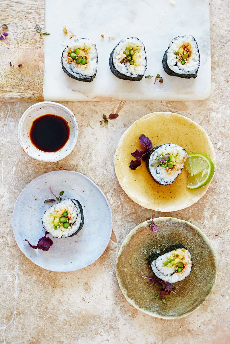 RT @JamieMagazine: Use seasonal asparagus in @jamieoliver's new take on sushi https://t.co/UTLWPrwJoP https://t.co/RgyrVQlCIh