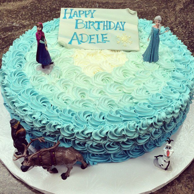 Happy Birthday Adele Cakes