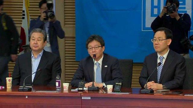 [JTBC 뉴스룸] #유승민, 대선 완주냐 멈춤이냐? 바른정당 '끝장 의총' 당원이 선출한 대선후보가 끝까지 뛰겠다는데 당이 일방적으로 뒤집을 수 없는 상황. '재신임 자리' 될 것이란 관측도 https://t.co/3Wwxt23mE6