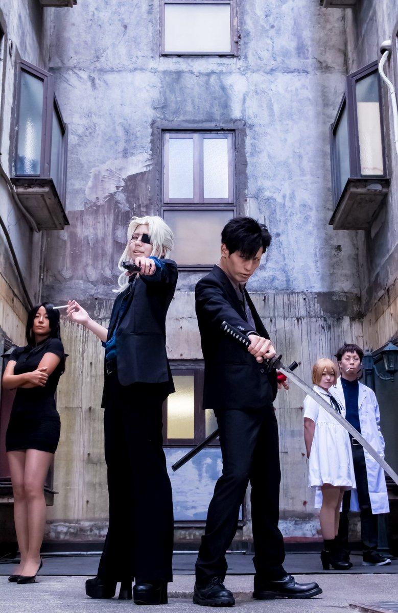 笹塚スタジオでGANGSTA.併せの撮影をしてきました。ウォリック()ニコラス()アレックス( )     テオ()ニナ