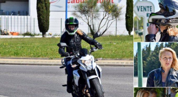 La petite sortie en moto de Marion Maréchal-Le Pen pour... acheter des fraises, fait bien rire les internautes ! 😂 https://t.co/UGfEbkeyYR