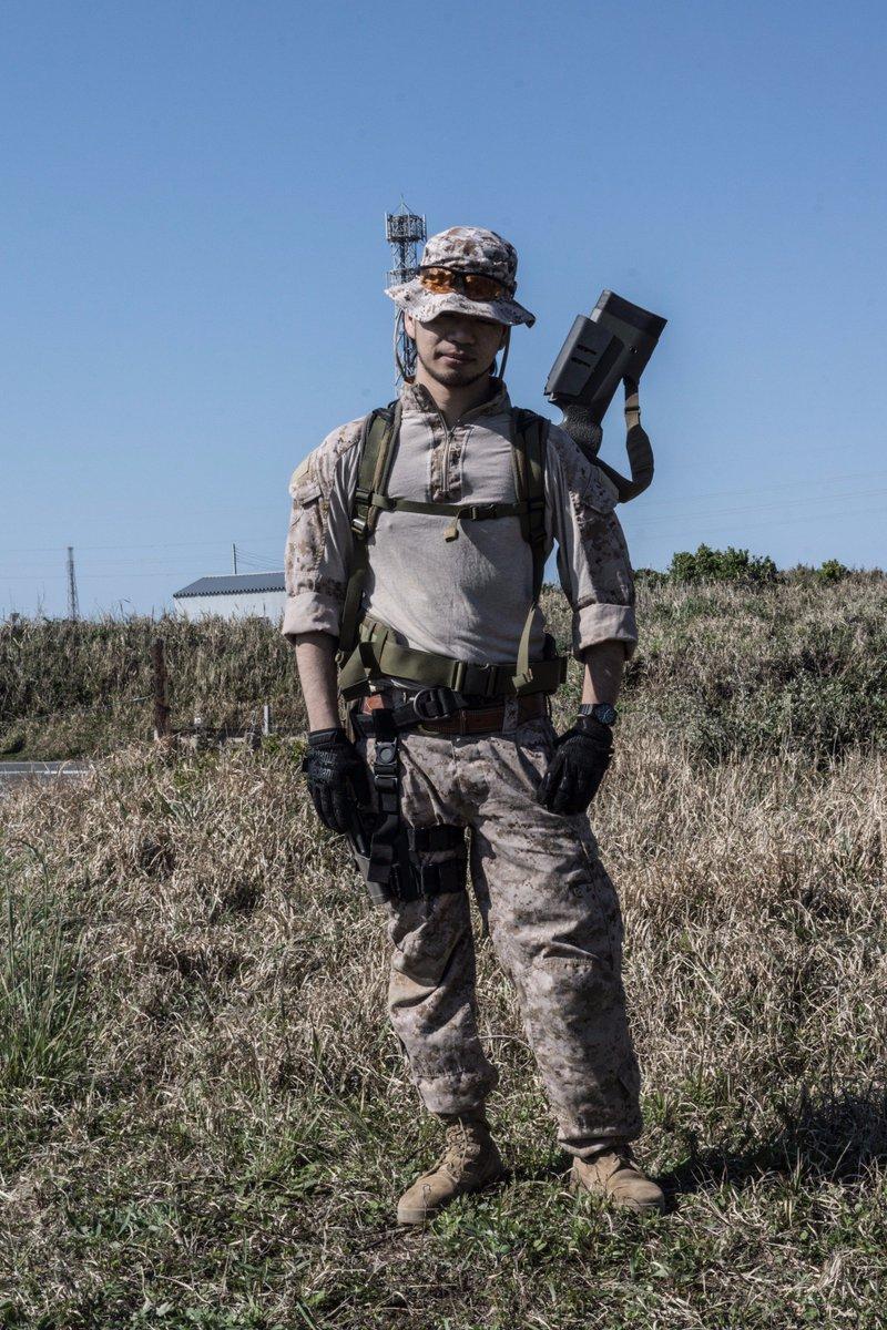 で、何でワシが海兵隊装備かっていうと、実は「ヨルムンガンド」の後半、「オペレーションアンダーシャフト」でブックマン救出に