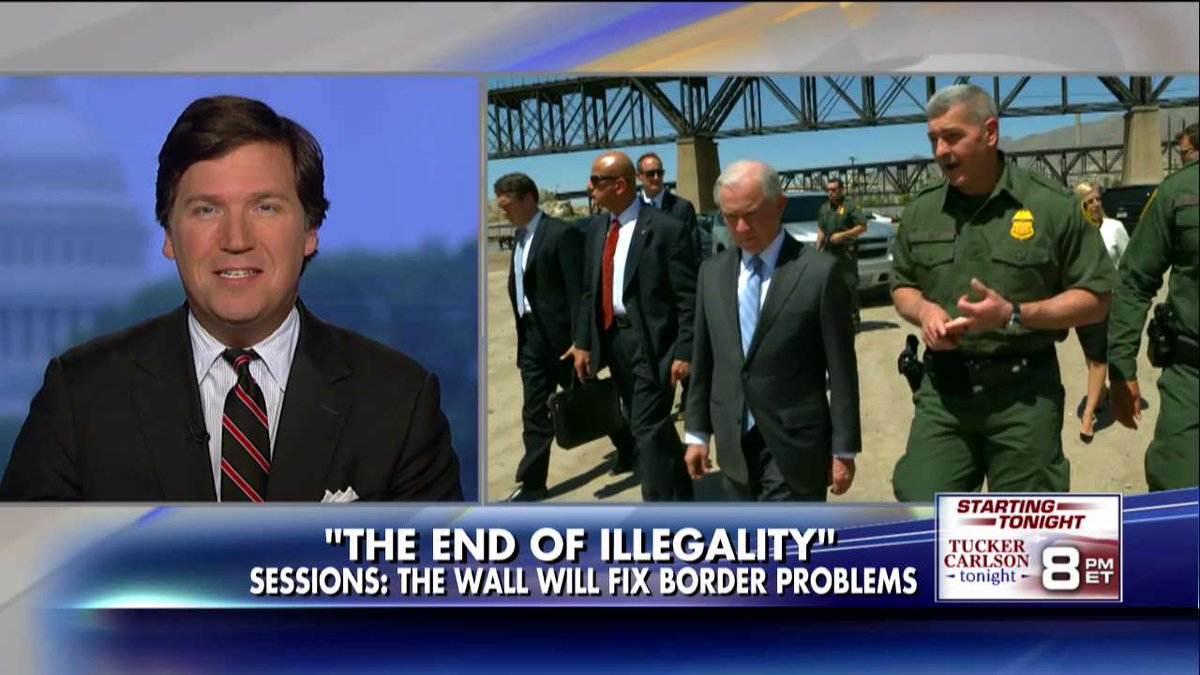 .@TuckerCarlson: Dems Worried Border Wall Could Stop Flow of Cheap Labor, New Voters @foxandfriends https://t.co/QOkNBX7ble