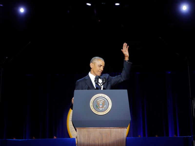 Obama to deliver first post-presidency speech in Chicago https://t.co/i55Lp6L2Bt