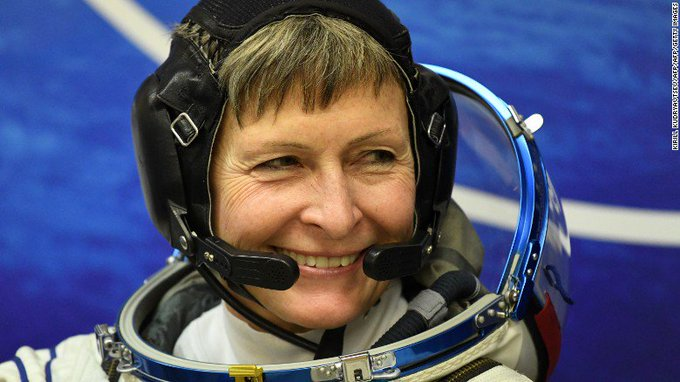 President Trump will call NASA astronaut Peggy Whitson, who set the US record for most cumulative days in space https://t.co/vgiaL4OBhm