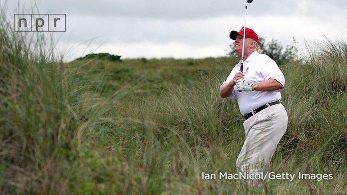 President Donald Trump: Golfer in chief https://t.co/e0CStq6W3E