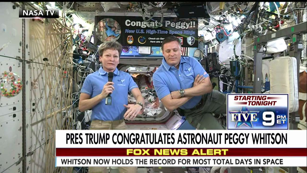 #NASA astronaut Peggy Whitson clinches space record https://t.co/EMkHjyNxCQ