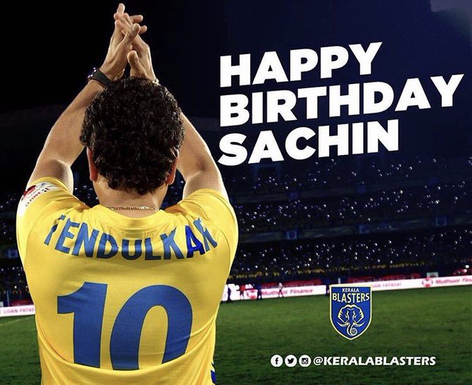 Happy birthday to you sachin tendulkar legend