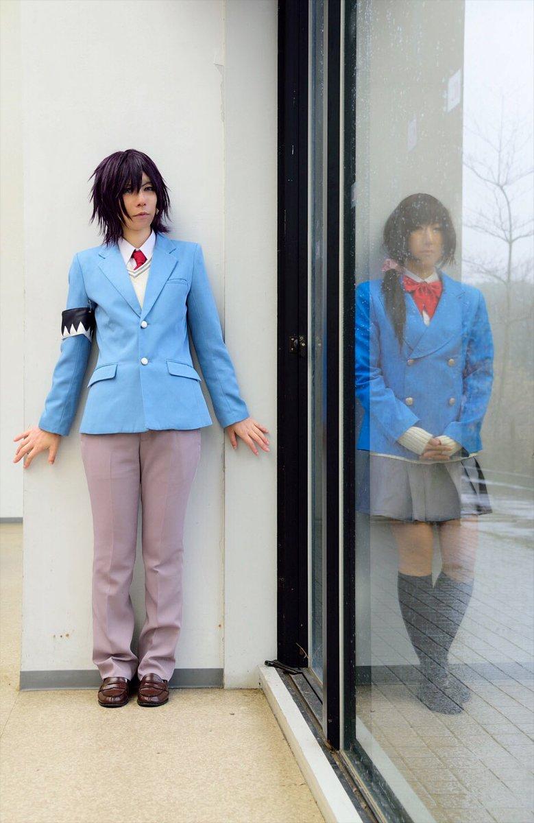 【薄桜鬼SSL】撮影した時、窓の外に千鶴ちゃんも土方先生も居なかったはず⁉️千鶴:さくらちゃん土方:早川粽さん撮影:にし