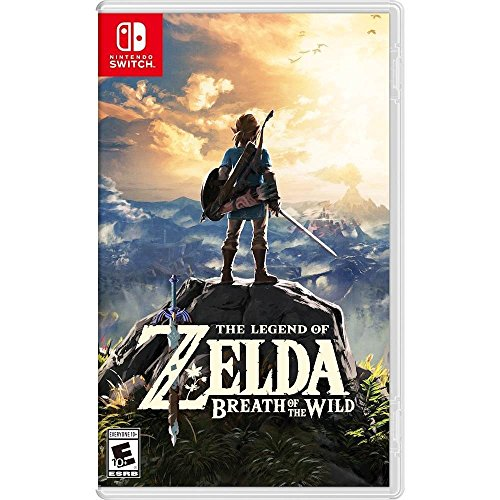 US #Games No.7 The Legend of Zelda: Breath of the Wild - Nintendo... https://t.co/YxxE00fZ24 https://t.co/BXewV3ye9y