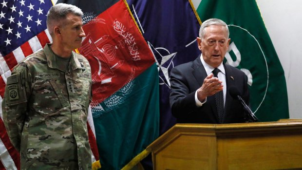 UPDATED: U.S. general in Afghanistan suggests Russia arming the Taliban