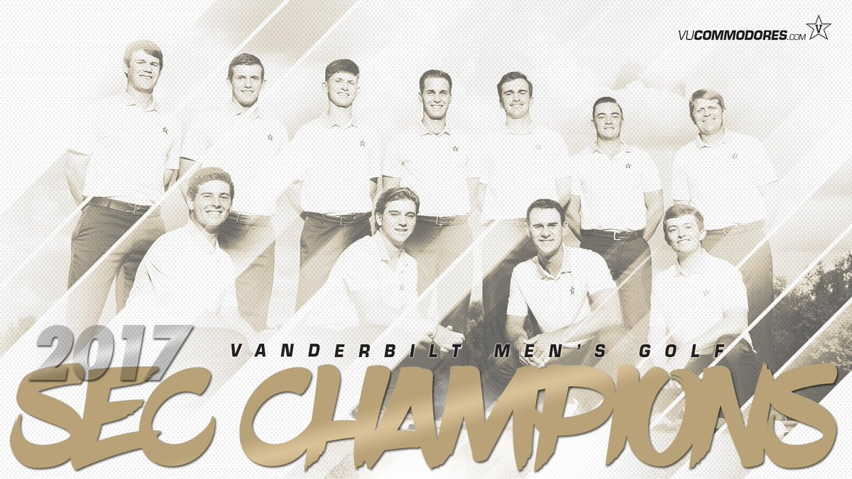 RT @VANDYMENSGOLF: The Commodores have won their first-ever SEC Championship! #SECChamps #AnchorDown https://t.co/zXkWLpjLM8