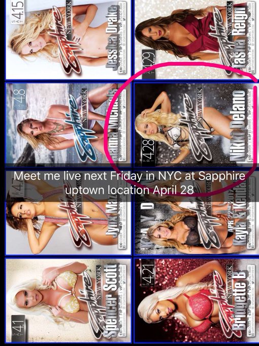 Meet me this Friday at @SapphireNYC April 28 uptown location muahs https://t.co/nJI9jAwxiT